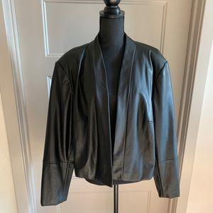 Calvin Klein Leather Bolero